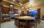 Enjoy this gourmet kitchen with a well designed area with plenty of room for company.