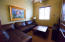 Room off master suite, TV office or?
