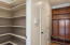 Walk in Pantry and mud room area