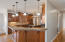 Kitchen-bar height seating