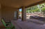 Basement covered Patio