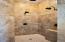 Master Bath Shower with 3 shower heads