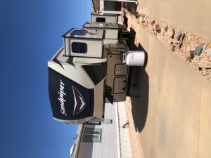Sandpiper 377 Flick 5th Wheel RV
