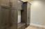 Mud Room with bench and lockers