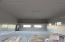 Inside RV garage with Mini split A/C