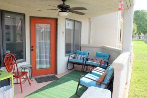 Back door courtyard