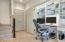 Downstairs Office/Craft Closet