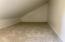 Upstairs bedroom playroom/storage