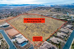 13+/- acres above Stone Cliff, St George, UT 84770