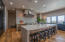 Open concept gourmet kitchen