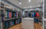 Walk-in closet with a WOW factor!!