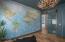 Custom door and wallpapering in offer