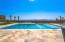 Beautiful pool with Baja step.