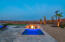 Sit in your spa or firepit and gaze at the starry skies