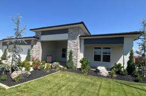 Photo is of Model home