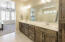Master bathroom w/upgraded tile.