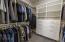 Master closet by Classy Closets.