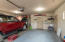Garage with Entry door to home and exterior