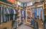 Huge master walk-in closet