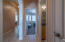 Hallway leading to 2nd bedroom