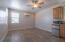 Large open studio with a split way AC/Heat unit