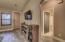 Hallway to other bedrooms & bath