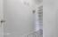 second pantry/freezer room