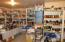 great shelves. well organized