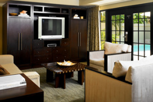 Living area - pool villa