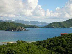 Tortola to the north