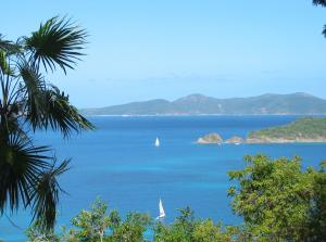 North shore view to British Virgin Islands