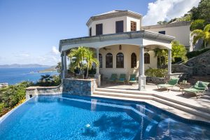 Rotunda Main House & Pool