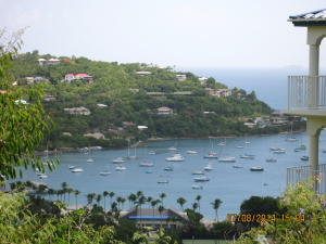View of Great Cruz Bay