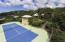 Freestanding 4th bdrm of main house lies adjacent to tennis court