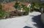 Private Driveway to Villa