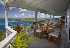 Veranda With Dining And Lounge Area