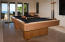 Game Room regulation size pool table