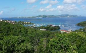 View of Pillsbury Sound to St. Thomas