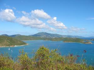 Hurricane hole to Tortola