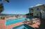 Lap pool & hot tub