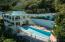 Huge lap pool & hot tub