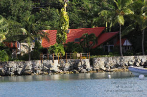 Gull Cottage from Great Cruz Bay