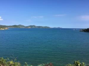 View over East End of St. John and towards BVI