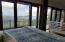 Master bedroom deck and view