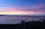 Sunset Sky over Trunk Bay
