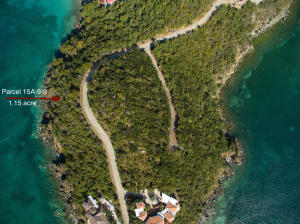 Parcel 15A-9-9. 1.15 acre waterfront on Rendezvous Bay