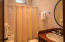 En suite bathroom for guests privacy