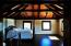 Master bedroom with camaru hard wood floors
