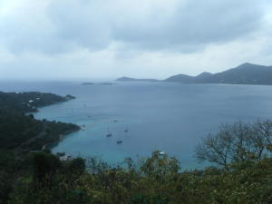 Ridge top parcel affords views of East End and BVI's