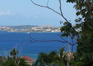 Views across Pillsbury Sound to St. Thomas